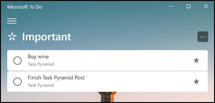 Task-Pyramid---Todo-important