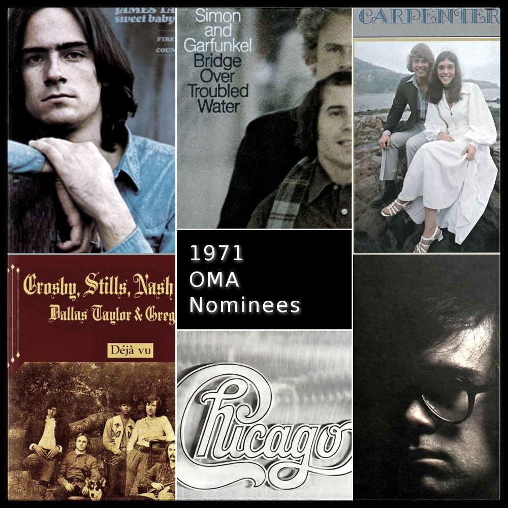 1971 Nominees: Album of the Year