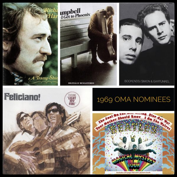 1969 Nominees: Album of the Year