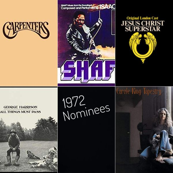 1972 Nominees: Album of the Year